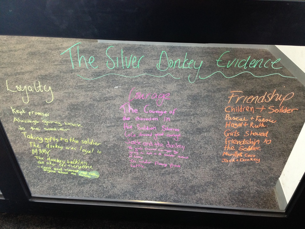 The silver donkey essay